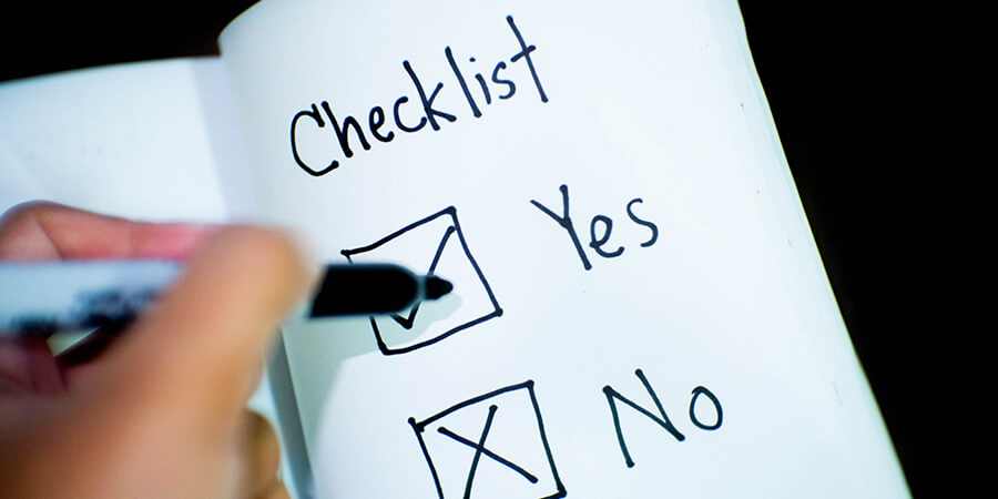 A Home Security Checklist